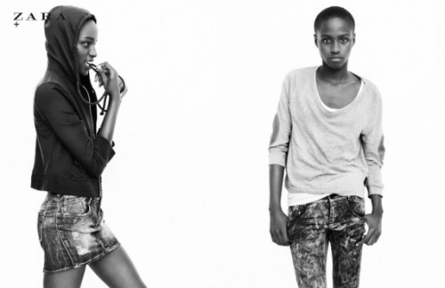 Ashane Rose for Zara TRF Spring  2011 Campaign