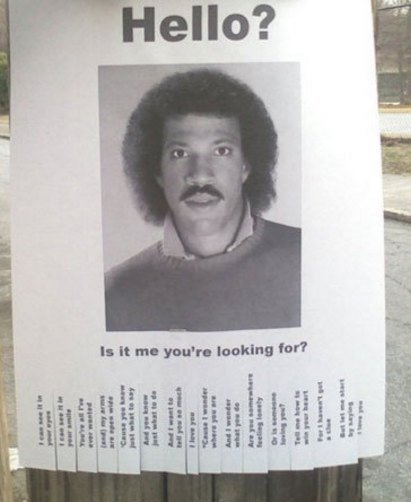 Have you seen him? :)