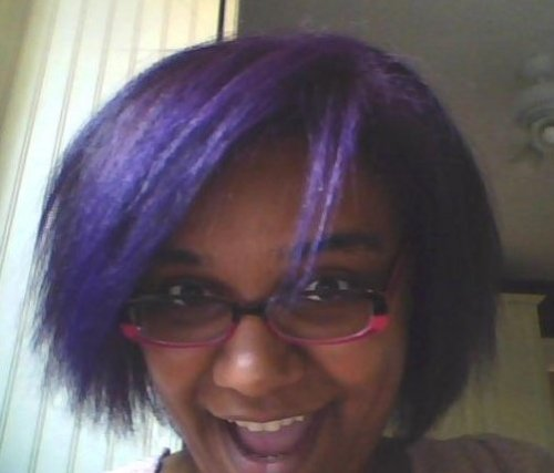 Hey angryguitarmeg, I used to have purple hair. It wasn't that long ago, either. I really liked it… but as I'm sure you know, it's a pain in the ass to maintain.