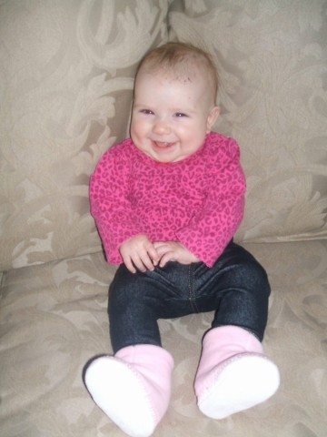 some serious style and skinny jeans on my niece, she must take after her auntie!