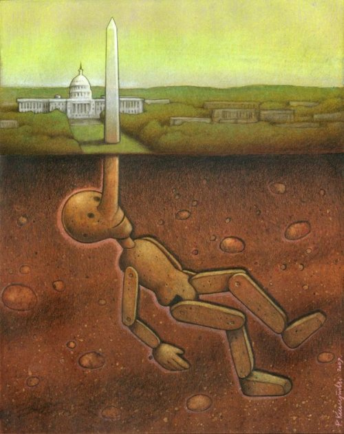 Satirical Drawings by Pawel Kuczynski.