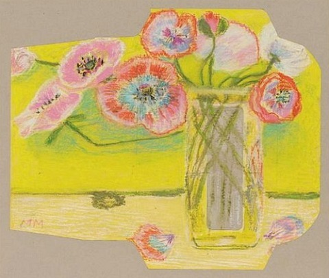 Margaret Mellis Cedric's Poppies, Yellow Envelope 20th century
