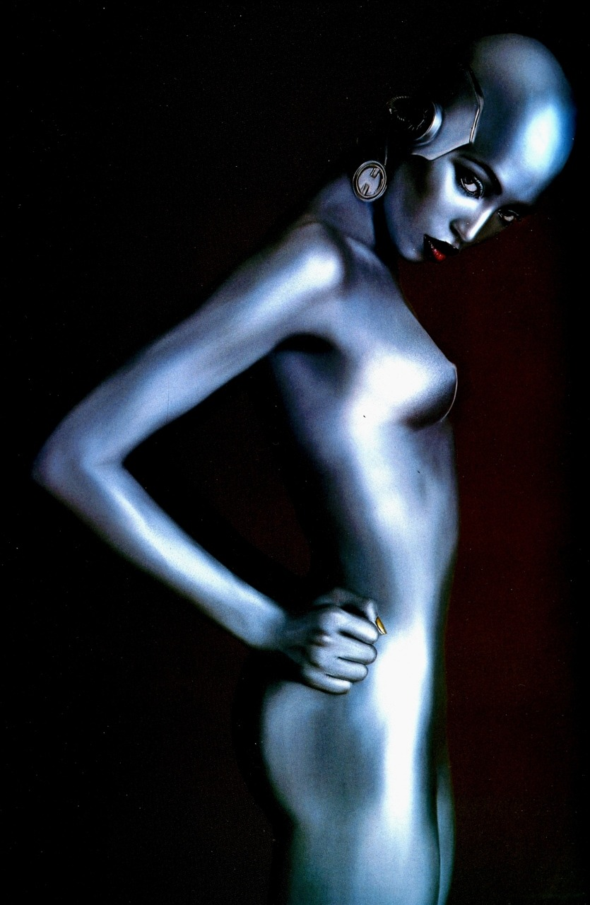 Naomi Campbell for Thierry Mugler