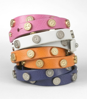Tory Burch Foundation Studded Cuff my friend has one in brown; very chic