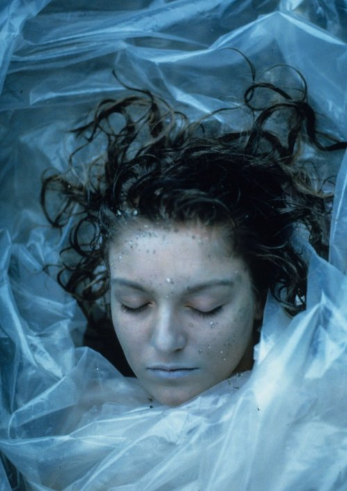 "randomfives:  ""She's dead… wrapped in plastic."""