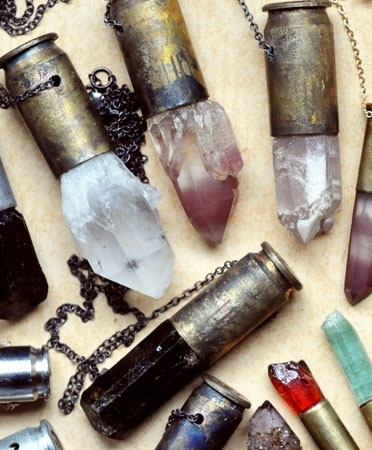 Want: Crystal Bullet Necklace.