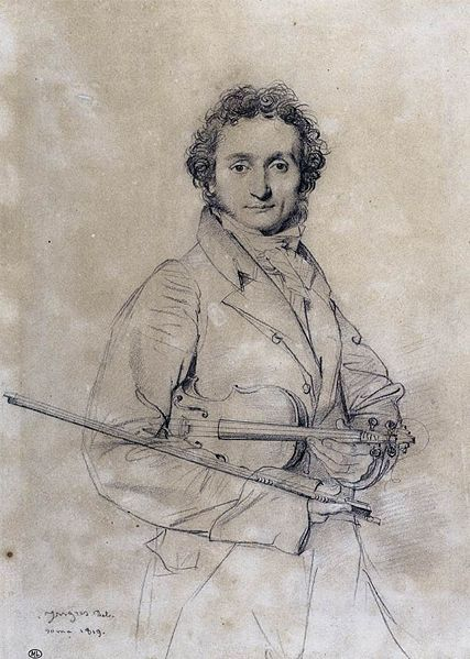 It is said that Niccolo Paganini sold his soul to the devil due to his incredible skills.
