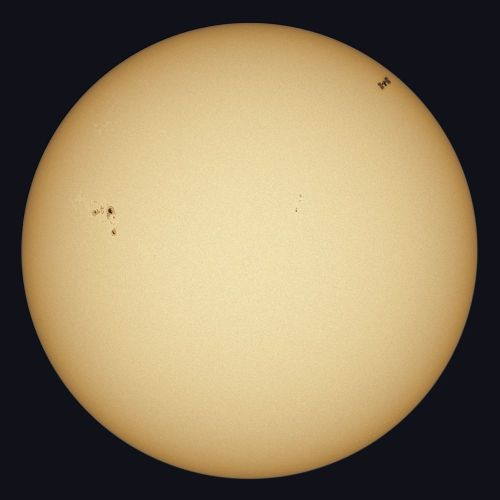 Mad Dash to Catch Space Shuttle Crossing the Sun