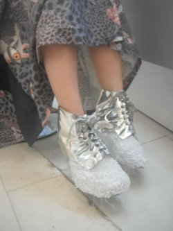 Ice-age shoes designed by me.