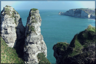 Cliffs of Normandie #2, France