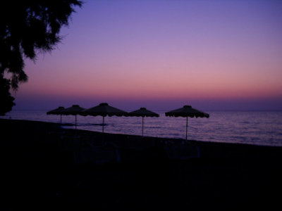 photo i took at soroni beach, rhodes, greece