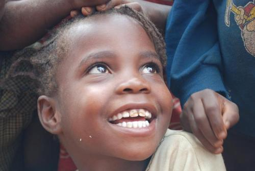 young girl, Malawi