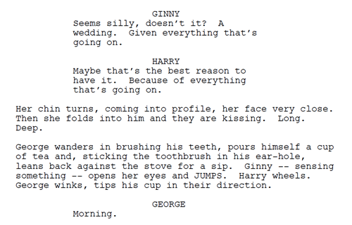 Film Script On Tumblr