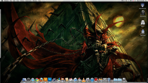 Spawn Wallpaper to start the week