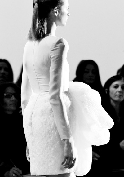 Giambattista Valli Fall 2011, Paris Fashion Week (Photo: vogue.com)