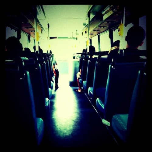 ridhiana:  Scenery in the Bus (Taken with instagram)