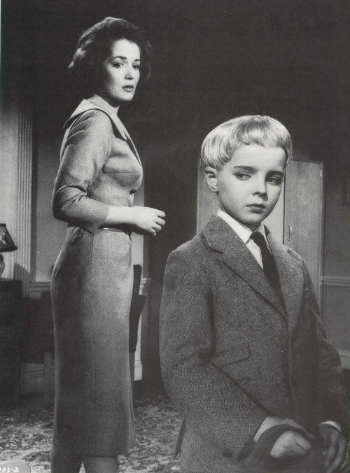 Image from Village of the Damned (1960), dir. by Wolf Rilla I love John Carpenter, but his remake could never compare to the beauty and suspense of the original. Quick trivia: The iconic glowing eyes of the village children was achieved by matting the negative film of their irises over the processed film. The effect is a brilliant and haunting testament to the art of pre-digital film editing.