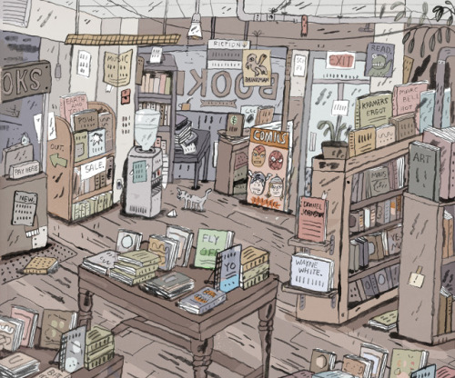 Mark Todd - bookstore
