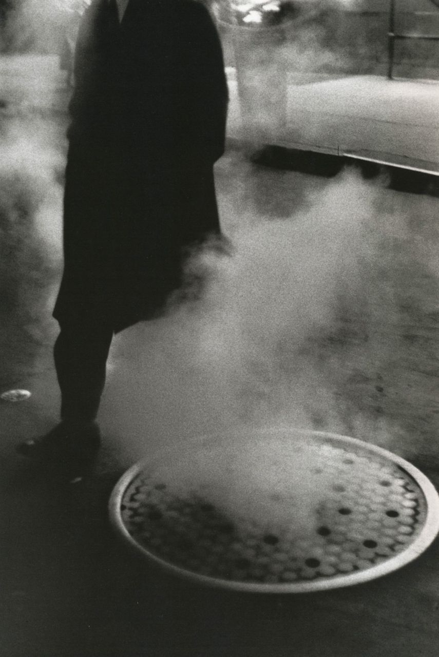 liquidnight:  Louis Stettner Manhole Times Square, New York, 1954 From Louis Stettner: Wisdom Cries Out in the Streets Thank you.