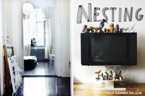 Nesting Can´t wait to get a copy of this book, Nesting by Cilla Ramnek & Pia Ulin. Like a swedish version of The Selby!