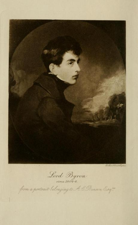 fuckyeahbyron:  Teenaged Byron, circa 1804-6. And engraving from the collected works of John Murray.
