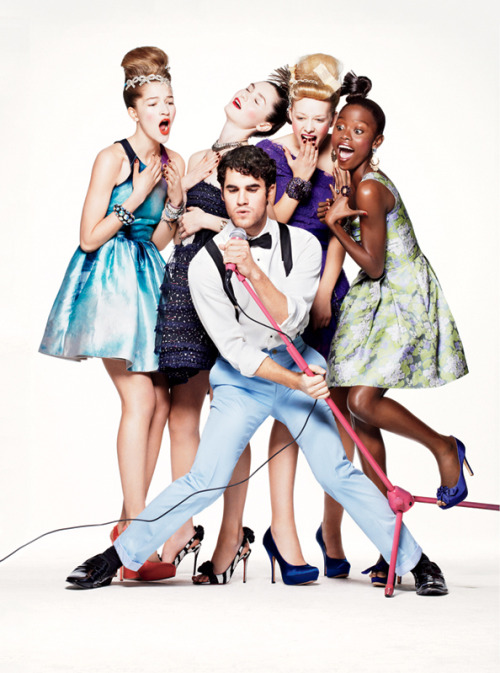 This prom, party with the boys of Glee! See all the photos of Darren, Harry, Chord, and Kevin in their Teen Vogue shoot » Photographed by Jason Kibbler