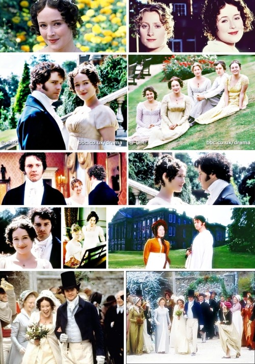 "Pride and Prejudice, when I first ""met"" Colin Firth. <3"