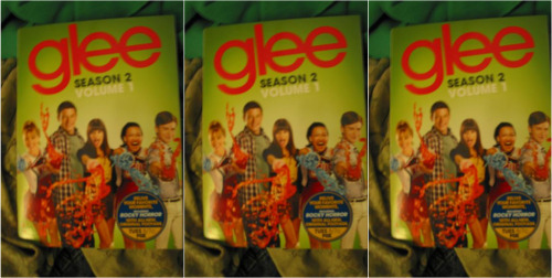 gleeks:  Hello Tumblr, it's my next Glee giveway! The prize this time will Season 2, Volume 1 of Glee on DVD. [*Sorry for the low-quality picture, my camera stinks.]  The DVD includes episodes 1-10 of Season Two along with Glee music jukebox; DVD world premiere: exclusive bonus song; The Making of the Rocky Horror Glee show; Getting Waxed with Jane Lynch; The Wit of Brittany; Glee at Comic-Con 2010So to win it, here are the rules: You do not have to be following either one of my blogs (personal or Glee), that's insane to do. All you have to do to enter is like or reblog this, and like most giveaways on Tumblr, I'll use a random number generater website to pick a winner from the notes. The contest will go for only a couple days and ends on March 15th, which is next Tuesday. I will pick the winner after the new episode of Glee! This will give people 6 days to learn to enter. Please do not message me to enter.