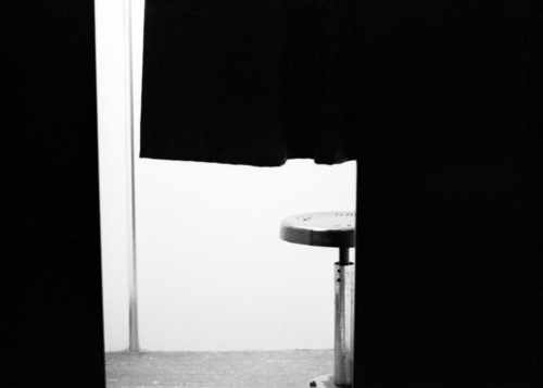 The photobooth at Ace Hotel New York by Dave America, using a Kodak Tri-X.