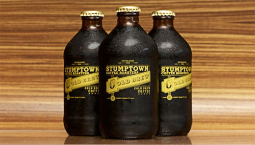Stumptown Cold Brew Coffee Bottles | Doobybrain.com