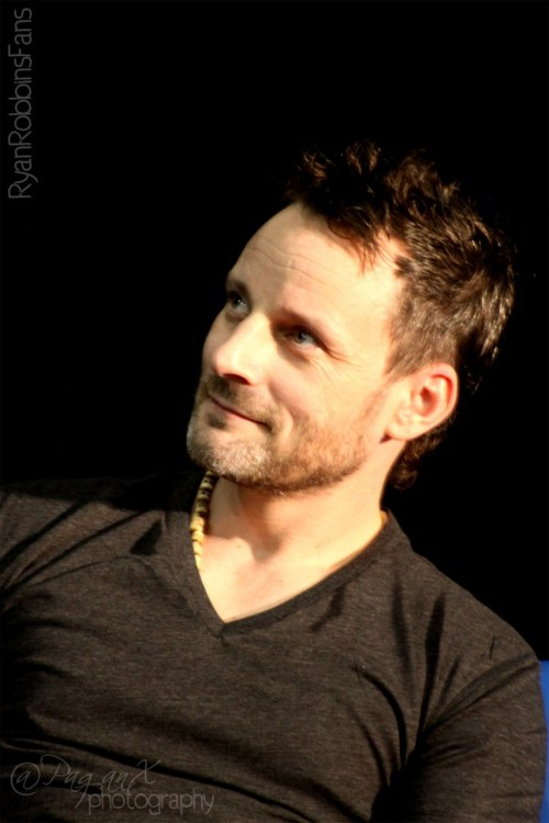 #Sanctuary 's RyRobbins at @ArmageddonExpo @ArmageddonOz in Sydney in February 2011