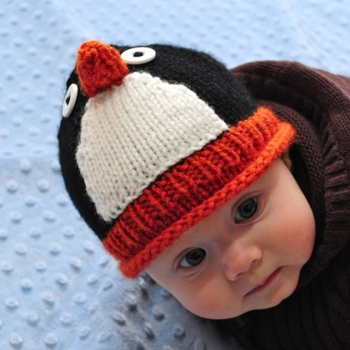 Penguin Knit Hat $22.00 USD from Canada