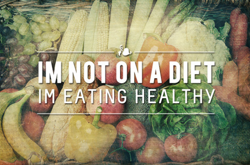 ourtimetochange:  It's not a diet…