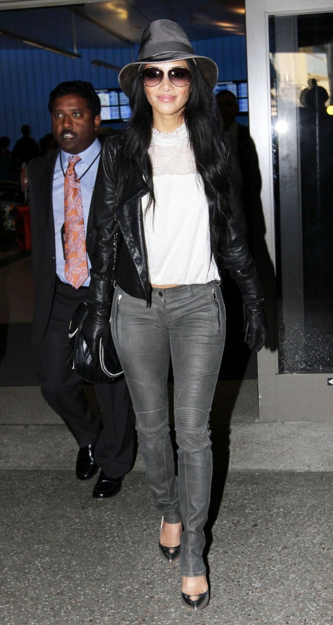 Nicole Scherzinger at LAX Airport - March 9, 2011