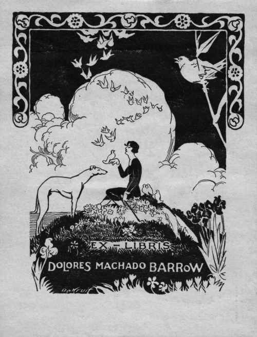 "From Findagrave.com DOLORES MACHADO de BARROW was the charming descendant of both the  Machado and Sepulveda families, who gave a good patriotic, civic and  social account of themselves in California for four generations.  Her  recent passing on July 25, 1937, filled the hearts of her many Southland  friends with a sense of deep personal and community loss. Dolores was born on Rancho de la Ballona, a part of the original grant  from the King of Spain to Augustin Machado, her grandfather.  She  attended school on a part of the estate of her grandmother, Ramona  Sepulveda, in Santa Monica.  Her college degree was obtained from U.S.C.   Since education had always been synonymous with progress to her, she  chose to spend several years in the United States government service in  establishing our wonderful school system in the Philippines.  Back in  Chicago, she took additional studies, after which she returned to Los  Angeles, where her civic and club interest kept pace with modern  progress. Her best service was devoted to the Friday Morning  Cub, Women's University Club and Native Daughters of the Golden West.   She was chairman of History and Landmarks of California Parlor.  A  member of the ""Faculty Wives"" of the University of Southern California,  Women's Service Auxiliary of the Chamber of Commerce and the Los Angeles  County Medical Association, she was largely responsible for founding  the latter's splendid library.  She was also State program chairman  (health education) of the California Women's Medical Auxiliary. She married Dr. John V. Barrow, physician and surgeon, and became the mother of two sons, one of whom is attending Stanford."