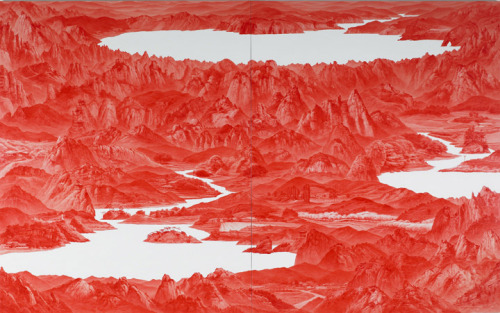 "Sea Hyun Lee - ""Between Red-33,2007"""