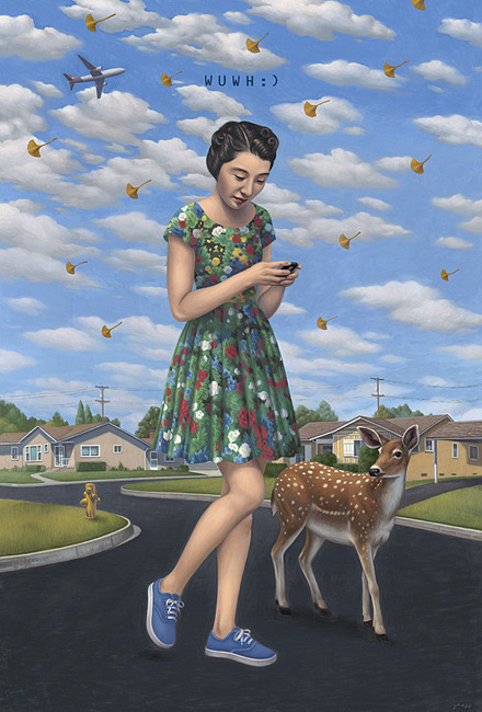 "Alex Gross - ""Wish You Where Here"""