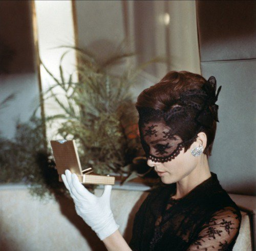"Audrey Hepburn (wearing Hubert de Givenchy) in ""How to steal a million"""