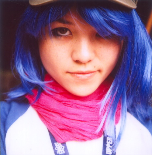 andykhouri:  My friend Becky Lewis as Noodle from Gorillaz, photographed by Lou O'Bedlam. Model's website | Photographer's Flickr | Photographer's Tumblr