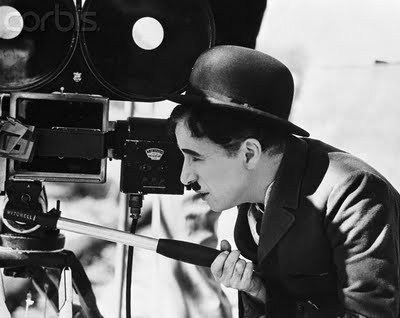 dadsamoviecritic:  Charles Chaplin filming on the set of City Lights (1931)