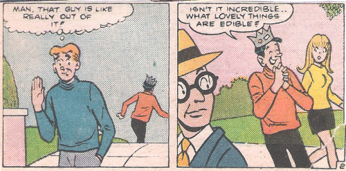 Those edibles are making Jughead, like, really out of it.