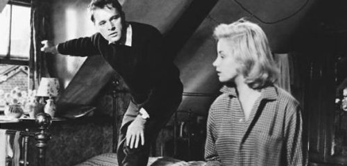 Richard Burton & Mary Ure in Look Back in Anger (1958) - A disillusioned, angry university graduate comes to terms with his grudge against middle-class life and values.