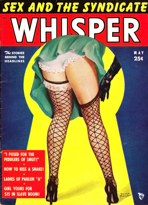 Whisper May 1953 art by Peter Driben