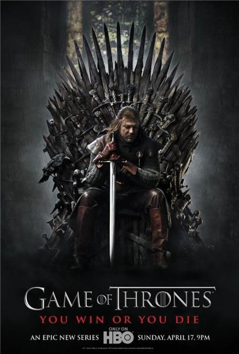 First official Game of Thrones poster! *excited wriggle*
