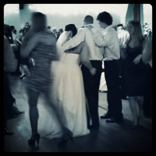 Wedding reception wind down #wedding photograph #we danced all night (Taken with Instagram at desertnana's studio)