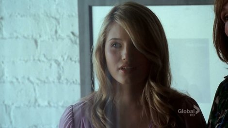 Dianna Agron (Quinn on Glee) was in an episode of Numb3rs as a suspect's girlfriend/potential accomplice. Thanks to scottzvirblis for the tip!