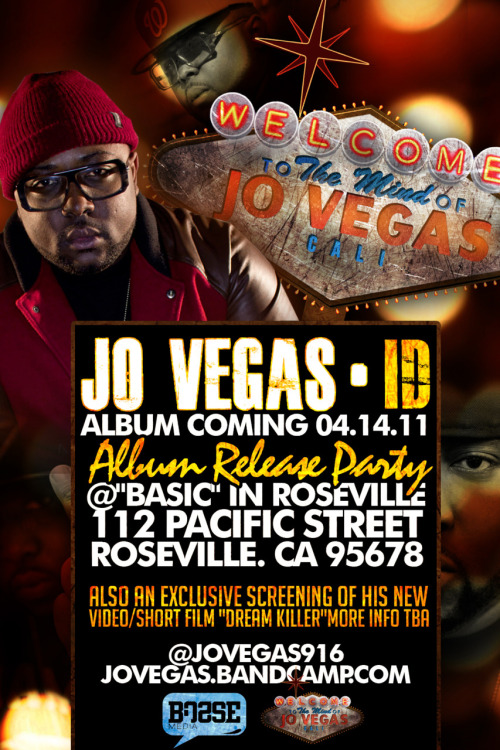 "Jo Vegas ""ID"" Album Coming Soon"