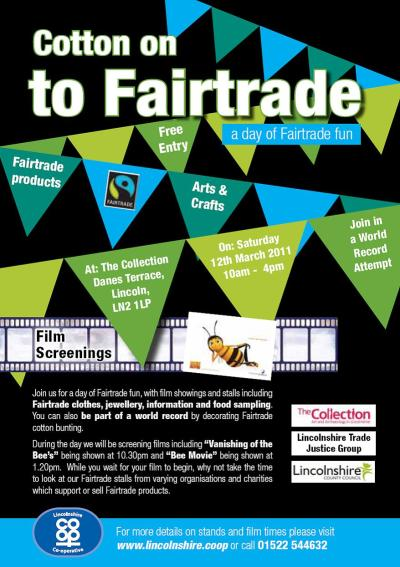 join in on the Fair Trade Fun at the Collection, looks to see, lots to buy..come over, wiggle out of your winter blues and enjoy the day. Sat 12th March 10am - 4pm