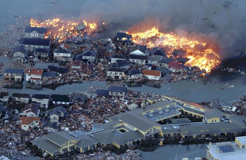Terrifying photos of the earthquake in Japan.