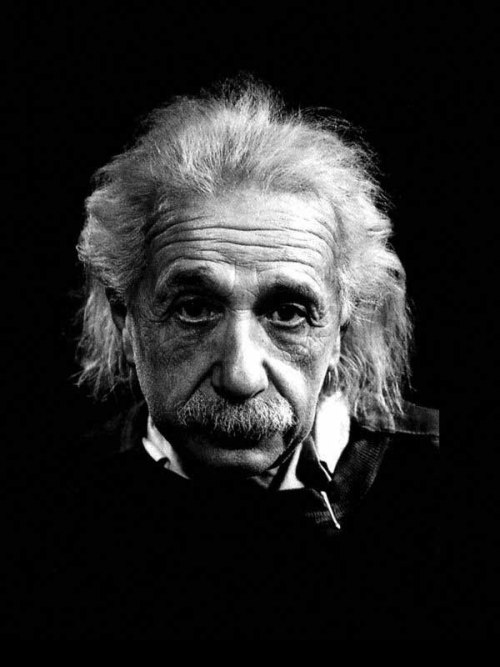 Albert Einstein Thanks to Mak